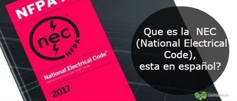 Que es la NEC National Electrical Code esta en spanish-min